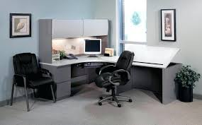 office large size senior. Mesmerizing Extended Computer Corner Desk With Drafting Table Office Interior Senior Officer: Large Size