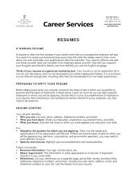 Personal Statement Examples For Resumes Personal Statement Examples