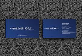 Zipcode Design Customer Service Elegant Playful Business Card Design For Broadcast1source