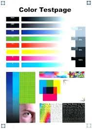 Color Laser Printer Test Page Color Printer Test Page Hp Color Laser