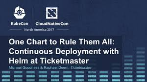 One Chart To Rule Them All Continuous Deployment With Helm At Ticketmaster Michael Goodness