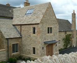 reclaimed cotswold stone used to build extensions to a home build home cotswold