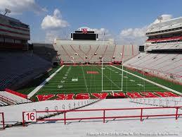 Haymarket Park Lincoln Ne Seating Chart Nebraska Memorial Stadium View From Endzone 16c Vivid Seats
