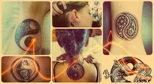 парные тату инь янь парные татуировки тату для двоих влюбленных