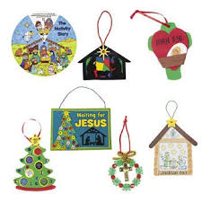 7 Christmas crafts for Sunday school.