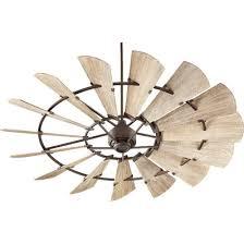 72 rustic windmill ceiling fan shades of light