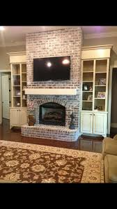 20 cozy corner fireplace ideas for your living room brick fireplace with side shelving