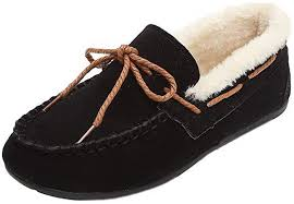 Women Shoes Plus Velvet Warm Flat Shoes Solid ... - Amazon.com