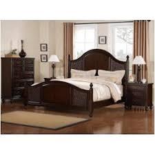 cherry mahogany bedroom furniture. Beautiful Cherry 157690q1 Flexsteel Wynwood Furniture Biscayne  Antigua Cherry Finish Bedroom  Bed Inside Mahogany
