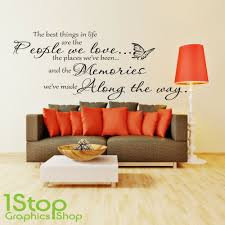 details about the best things in life wall sticker quote bedroom wall art decal x164