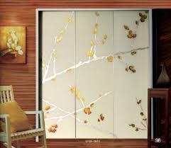 contemporary decorative laminated glass doors interior for wardrobe door images