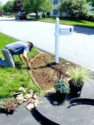 mailbox landscaping with culvert. Interesting Culvert Landscaping Around Mailbox Photos    Intended Mailbox Landscaping With Culvert G