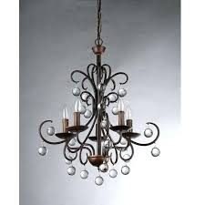bronze chandelier with crystals replacement crystal parts accents archived on lighting post dark