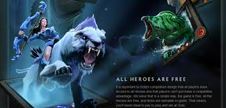 dota 2 officially free to play all heroes will be free store to