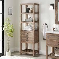 22 benoist bathroom linen storage cabinet gray wash pine