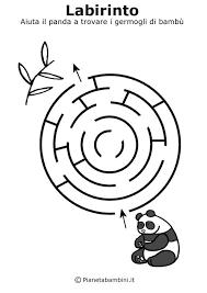 Labirinti Da Stampare Per Bambini Di 5 Anni Circa Gaia Labirinto