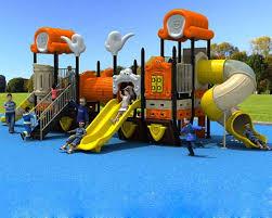BAR-04P Kids Plastic Playground Slide Equipment Cheap
