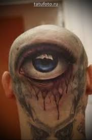 татуировка третий глаз Tatufotocom