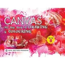 goyal brothers canvas my big book of drawing colouring book 8