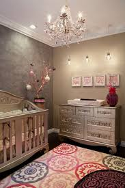 bedroom enchanting white chandelier for baby nursery and erfly