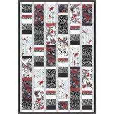 Quilt Patterns for Men   Easy Bonnie Scotsman Quilt Pattern   GUYS ... & Hoffman Woodsy Winter Silver Throw Quilt Kit 49.5