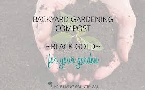 backyard gardening compost diy