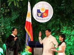 「phillippines new president innogulation ceremony」の画像検索結果