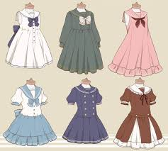 Design Clothes Anime 20 Simple And Easy Clothes Drawings How To Draw A Dress