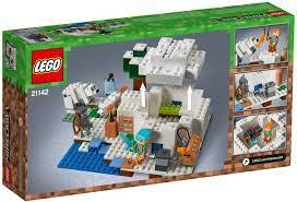 Đồ chơi lắp ráp LEGO Minecraft 21142 - Ngôi Nhà Tuyết của Alex (LEGO  Minecraft 21142 The Polar Igloo) giá rẻ tại cửa hàng LegoHouse.vn LEGO Việt  Nam