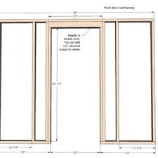 door jamb diagram. Noteworthy Frame A Door Simple Measure For Building In Diagram Picture With Jamb
