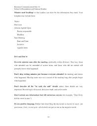 Sample Cover Letter For Minutes Of Meeting Sample Of Minutes Writing
