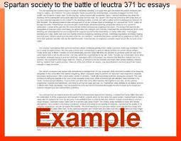 good writing essay sample paragraph