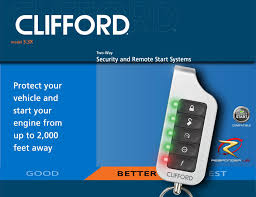 clifford 3 3x matrix car alarm remote engine start clifford matrix 3 3x