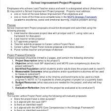 School Project Proposal Templates – 9+ Free Word, Pdf Format With ...