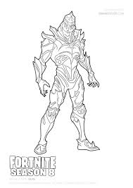 Omega Fortnite Coloring Page Felszamolascom