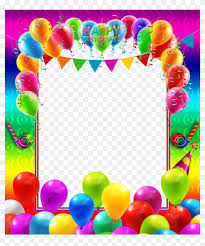 happy birthday colorful transpa png frame gallery colorful birthday frames and borders