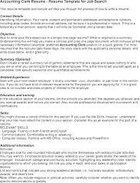 Accounts Receivable Clerk Resume Letter Resume Directory