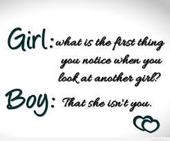Girl Vs Boy Tumblr Funny Quote