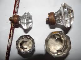 item gdp15 antique restoration hardware glass pull
