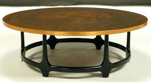 round copper coffee table the new way home decor beautiful and elegance end tables mexican tops