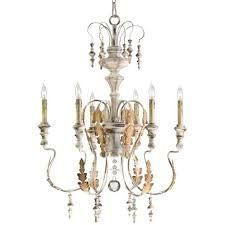 cardboard chandelier french crystal chandelier white shabby chic chandelier french cottage lighting