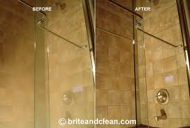 hard water stain remover shower door dumound brite and clean windows cleaning removal home design 3