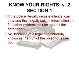 On A Blank Piece Of Paper Write Down  Ppt Video Online DownloadFruit Of Poisonous Tree Doctrine Definition