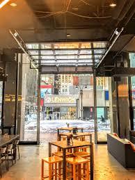 overhead glass garage door. Nyc-glass-garage-door-food-court.jpg Overhead Glass Garage Door G
