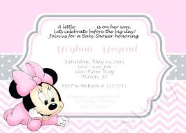Electronic Birthday Invite Minnie Mouse Electronic Invitations Budet Pro