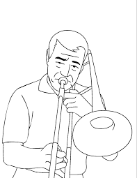 Playing Music Trumpet