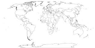 World Map Black And White Printable With Countries Printable World Maps World Maps Map Pictures