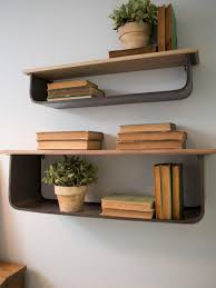 office wall shelving. photos hgtv stylish home office with open shelving wall d