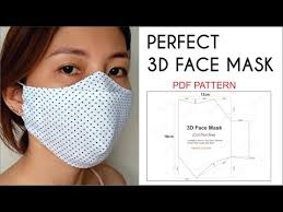 10 free face mask sewing patterns and