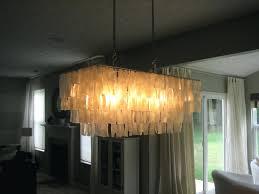 marvelous capiz chandelier rectangular 3 affordable find